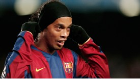 Ronaldinho's star faded quickly after his Ballon d'Or win with Barcelona in 2005.