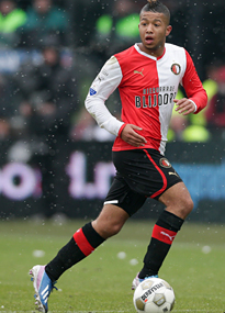 Tonny Vilhena of Feyenoord and Netherlands