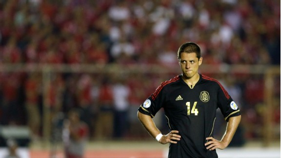 Chicharito was once again wasteful in front of goal