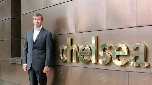 Roman Abramovich bought Chelsea from Ken Bates in 2003