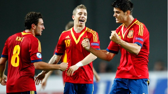 A 1-0 win over Germany didn't reflect Spain's dominant across the pitch