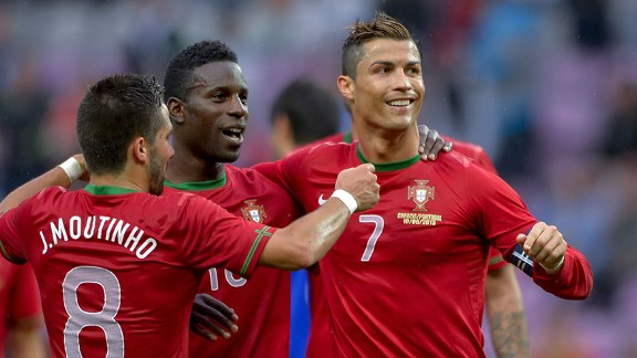 Portugal are assured of a place in the playoffs.