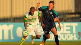 Carl Cort in action for the Tampa Bay Rowdies