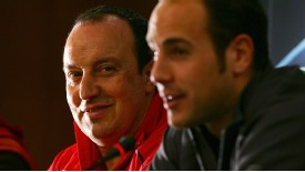 Pepe Reina arrived at Liverppol during Rafa Benitez's second summer