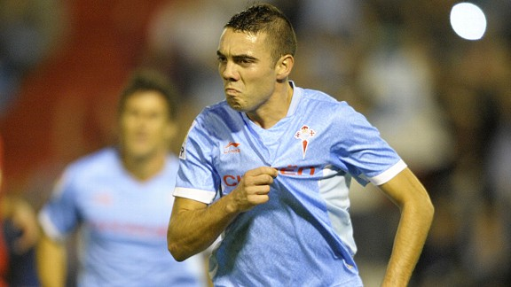Iago Aspas is expected to complete his move to Anfield shortly