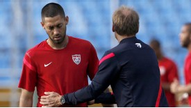 Clint Dempsey US training Jurgen Klinsmann