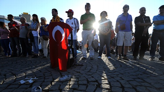 Anti-goverment protests continue in U20 WC host nation Turkey