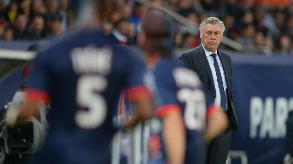 Carlo Ancelotti has had plenty of political issues to deal with at PSG