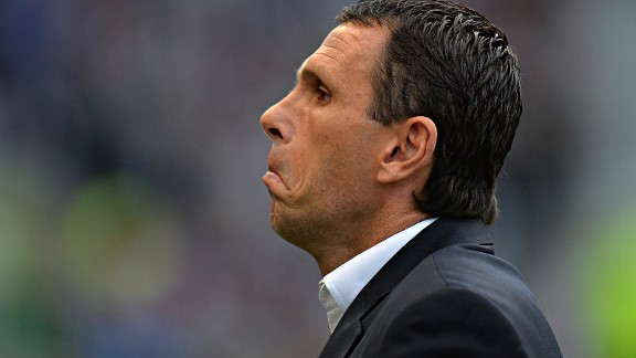 Gus Poyet was informed by Brighton of his sacking via a statement whilst appearing as a pundit on a live TV show