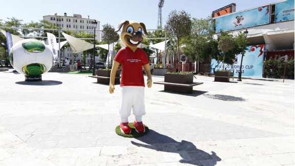 Meet Kanki the dog - the official mascot of the 2013 Under-20 World Cup