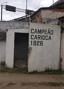 The Estadio Figueira de Melo has seen better days