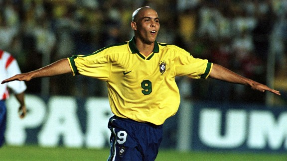 From Sao Cristovao to the Selecao: Ronaldo in action for Brazil in 1997
