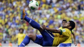 Hulk Brazil bicycle kick
