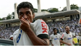 Paulinho kissed goodbye to Corinthians and joined Tottenham in a £17 million deal.