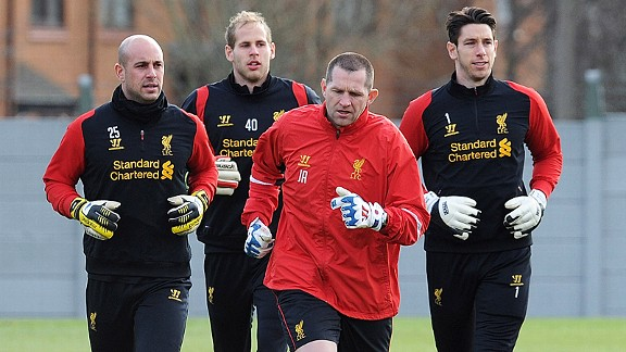Liverpool goalkeeping coach John Achterberg has been unable to help Pepe Reina rediscover his form