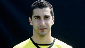 Henrikh Mkhitaryan enjoyed a fine Dortmund debut