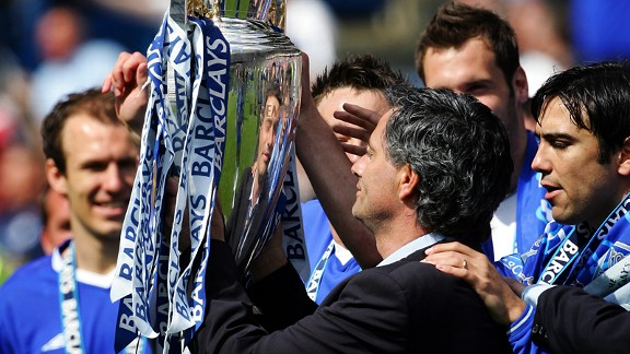Returning Chelsea manager Jose Mourinho is expected to hold aloft Premier League trophy once again at the end of the season.