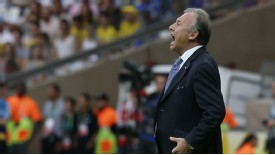 Alberto Zaccheroni coach Japan shout