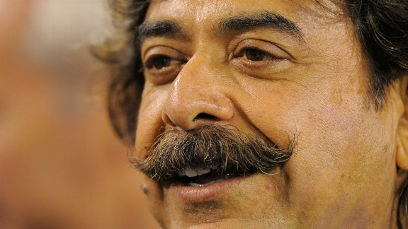 Shahid Khan close up smile
