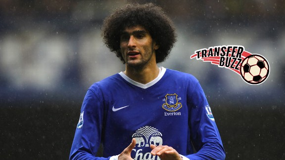 Marouane Fellaini Everton TRANSFER BUZZ