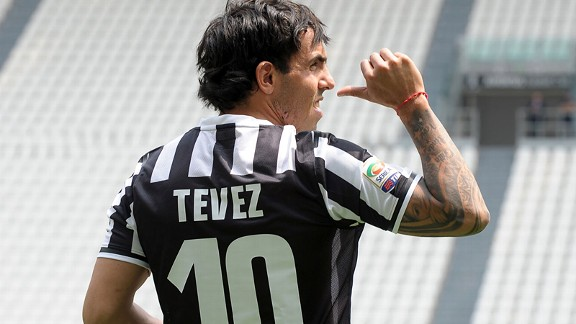 Carlos Tevez: One of the new players Conte wants to utilise