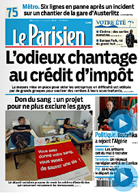 Le Parisien on Wednesday
