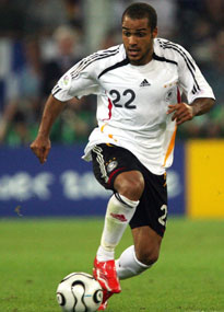 David Odonkor in action for Germany in their 2006 World Cup semi-final
