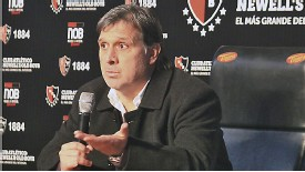 New Barcelona coach Gerardo Martino