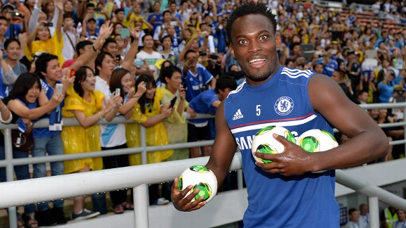 Michael Essien is getting back to his best on Chelsea's pre-season tour.