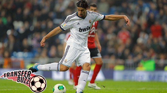 Khedira could be reunited with Mourinho.