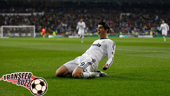Alvaro Morata has emerged as a target for Tottenham.