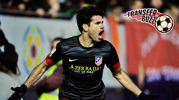 Liverpool are on the trail of Diego Costa.