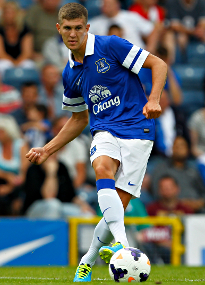 John Stones showed his potential in Everton's back three against Juventus.