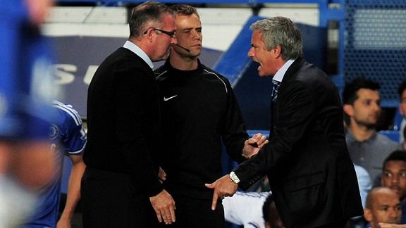 Aston Villa's Paul Lambert is the latest manager to feel the wrath of Jose Mourinho.