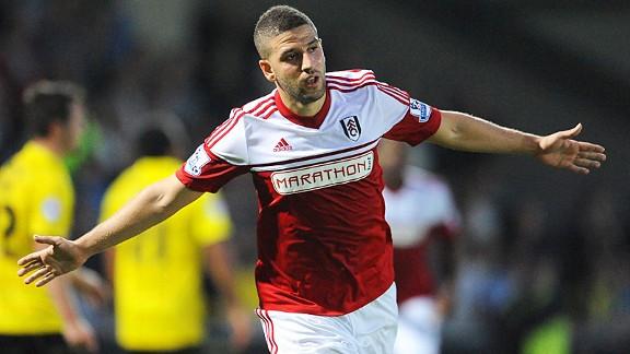 Adel Taarabt put Fulham in front at Burton Albion.
