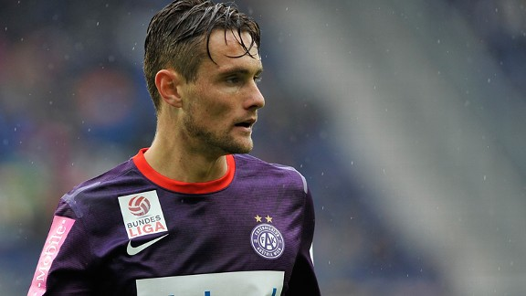 Australian James Holland has been a key figure for Austria Vienna.