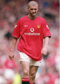 Roy Keane felt no remorse after being sent off for Manchester United against Leeds in 2001.