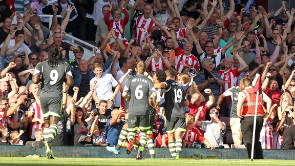 Jermaine Pennant scored for Stoke against West Ham.