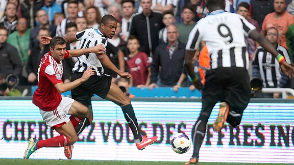 Loic Remy added another dimension to Newcastle's forward play.