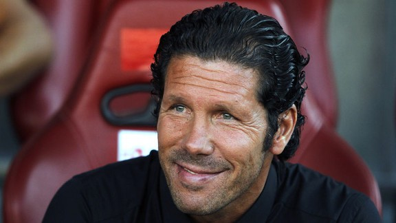 Diego Simeone says he is not confident of breaking Barcelona and Real Madrid's monopoly.