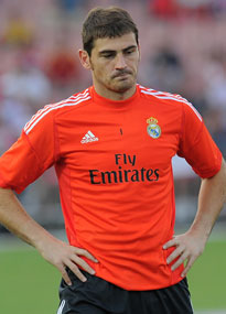 Iker Casillas is enduring a tough time at Real Madrid.