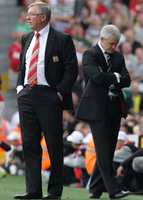 Sir Alex Ferguson, Mark Hughes