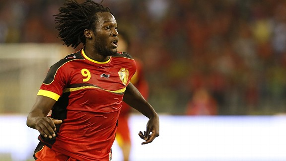 Belgian Romelu Lukaku should ease Everton's scoring problems.