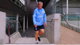 Roy Hodgson England training