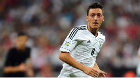 Germany Mesut Ozil action v Austria