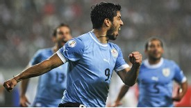 Luis Suarez is again Uruguay's focal point as they aim to qualify.