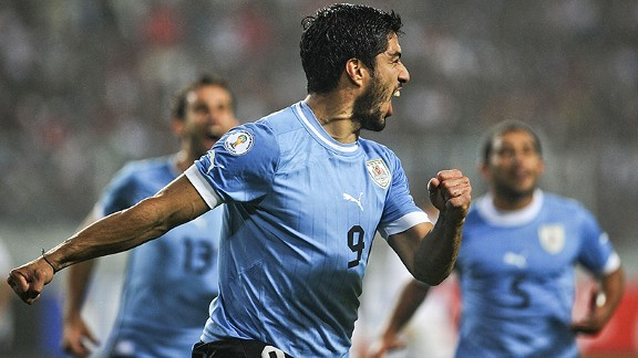 Luis Suarez and Uruguay may well have to settle for a playoff against Jordan.