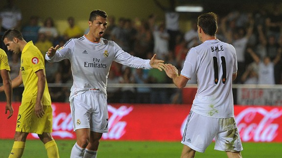 Bale and Ronaldo were both on target in Real's draw with Villarreal.
