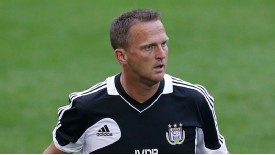 Anderlecht boss John Van den Brom is happy to be in Group C.