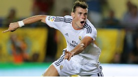 Gareth Bale didn't have the best of debuts for Madrid but still had a goal to show for it.